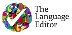 The language editor - proofreading, correction, and editing