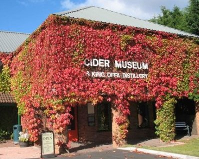 Cider Museum - venue of blogging masterclass